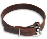 1 inch Dog Collar-One inch Leather Collar for police dogs