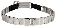 FUN-19'' STAINLESS STEEL dog collar NECK TECH COLLAR Schutzhund