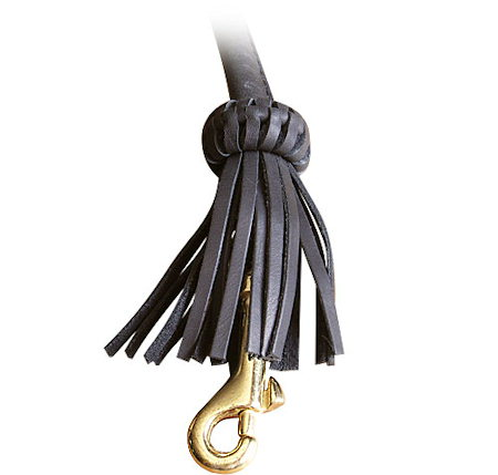 Rolled Leather Dog Lead 1/6 to 2 Foot Round Leash for all dogs