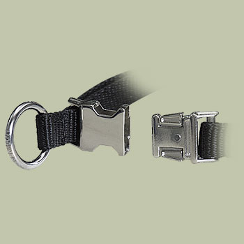 Nylon Quick-Release Training Pinch Collar for schutzhund dogs