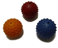 Rubber Squeaky Ball Dog Toy 2 3/8''(6cm)-police dogs Dog Toys