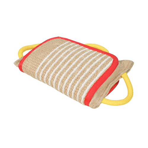 Jute bite pad with cover