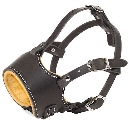 Stop Dog Barking for police dogs with this special design muzzle