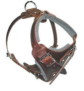 SIMILAR to Gappay Leather Defense Harness for police dogs