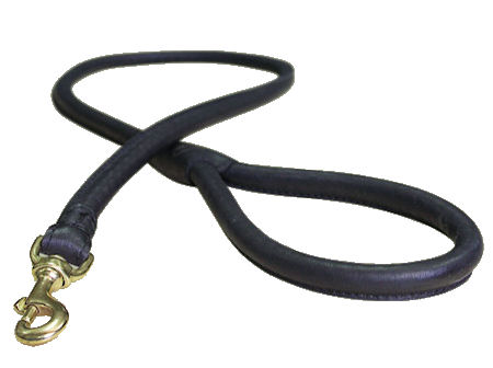 Leather Latigo Round Lead for DOG