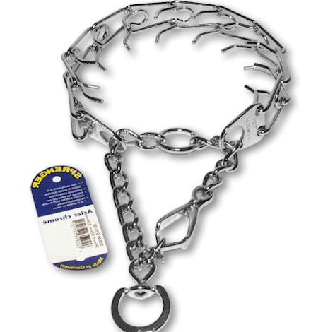 Prong Collar with Quick Release-training collar for police dogs