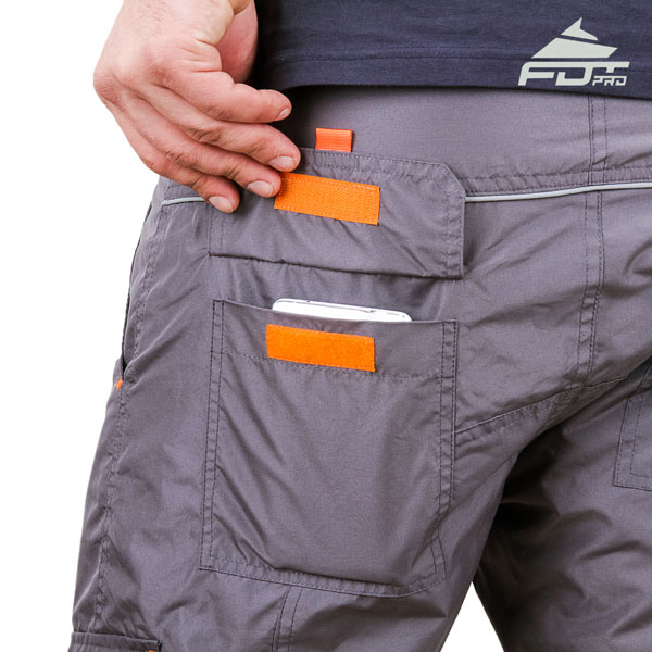 Comfy Design Pro Pants with Reliable Back Pockets for Dog Trainers