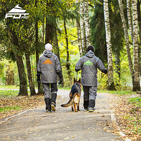 Pro Dog Trainer Jacket of Finest Quality for Any Weather
