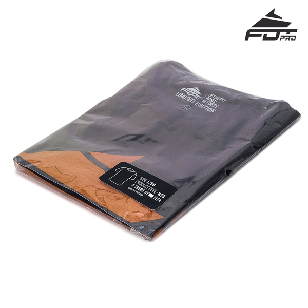 Prepacked FDT Professional T-shirt Dark Grey