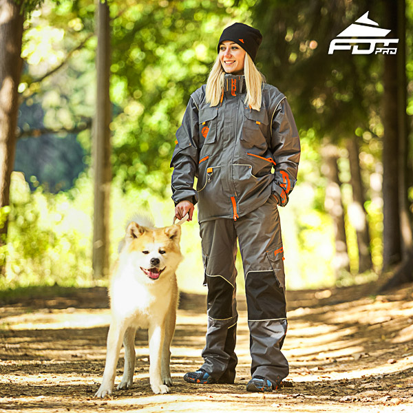 Professional Men and Women Design Dog Trainer Jacket of High Quality Materials