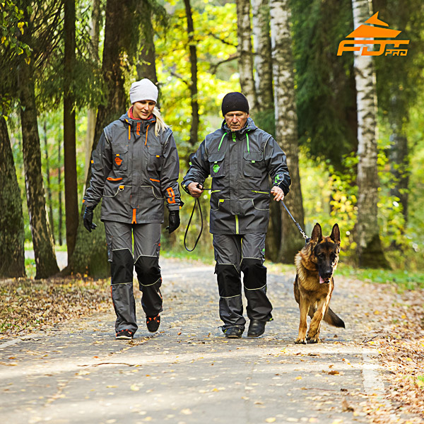 Unisex Dog Training Suit for Men and Women for Any Weather Use